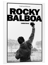 Stampa su schiuma dura  Rocky Balboa - Entertainment Collection