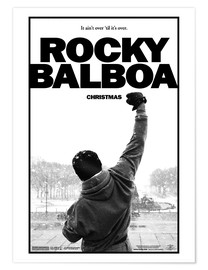 Poster Premium  Rocky Balboa - Entertainment Collection