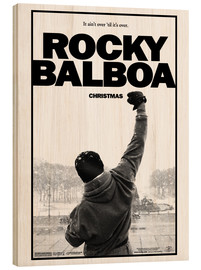 Stampa su legno  Rocky Balboa - Entertainment Collection