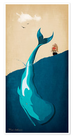 Poster  Moby Dick I - Mark Ashkenazi