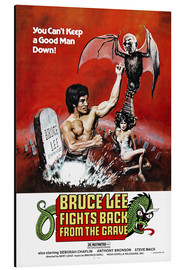 Alluminio Dibond  Bruce Lee fights back from the grave