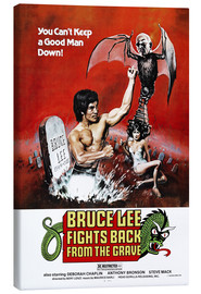 Stampa su tela  Bruce Lee Fights Back from the Grave - Entertainment Collection