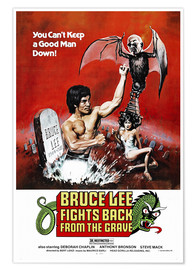 Poster Premium  Bruce Lee Fights Back from the Grave - Entertainment Collection