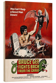 Legno  Bruce Lee fights back from the grave