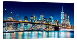 Tela  New York illuminated Skyline - Sascha Kilmer