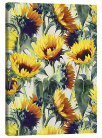 Stampa su tela  Sunflowers forever - Micklyn Le Feuvre