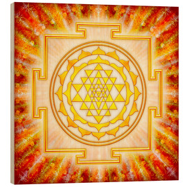 Legno  Sri Yantra - Artwork Light - Dirk Czarnota