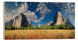 Stampa su legno  Yosemite Valley - El Capitan - Michael Rucker