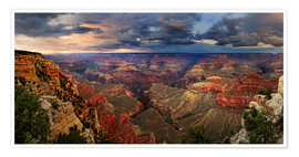 Poster Premium  Grand Canyon View - Michael Rucker