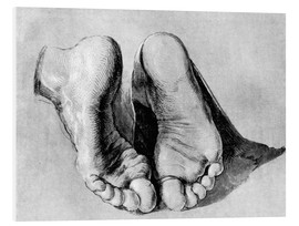 Schiuma dura  Feet of an apostle - Albrecht Dürer