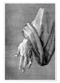 Poster Premium Left hand of an apostle