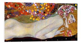 Forex  Water Serpents II (detail) - Gustav Klimt