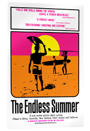 Vetro acrilico  The endless summer