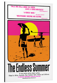 Stampa su alluminio  The Endless Summer - Entertainment Collection