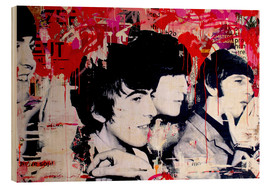 Stampa su legno  The Beatles - Michiel Folkers