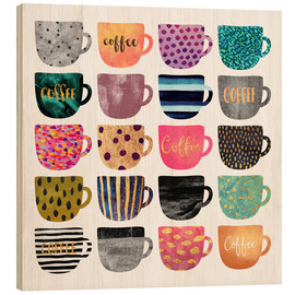 Legno  Pretty Coffee Cups - Elisabeth Fredriksson