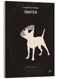 Legno  No079 My Snatch minimal movie poster - chungkong