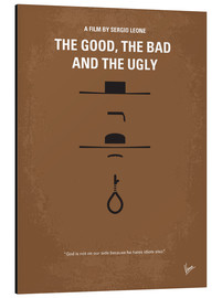Stampa su alluminio  No090 My The Good The Bad The Ugly minimal movie poster - chungkong