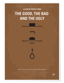 Poster Premium The Good, The Bad And The Ugly