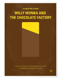 Poster Premium Willy Wonka And The Chocolate Factory