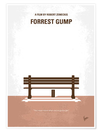 Poster  No193 My Forrest Gump minimal movie poster - chungkong