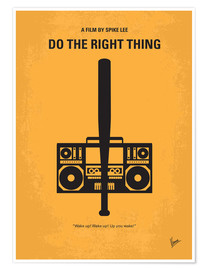 Poster Premium Do The Right Thing