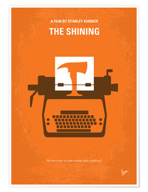 Poster  No094 My The Shining minimal movie poster - chungkong