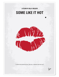 Poster Premium  Some Like It Hot - chungkong