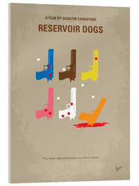 Vetro acrilico  No069 My Reservoir Dogs minimal movie poster - chungkong
