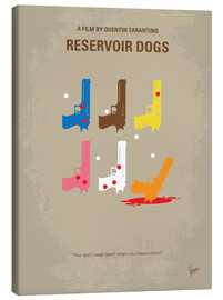 Tela  No069 My Reservoir Dogs minimal movie poster - chungkong