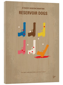 Stampa su legno  Reservoir Dogs - chungkong