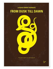 Poster Premium No127 My FROM DUSK  DAWN miniTHISmal movie poster
