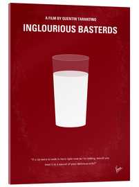 Vetro acrilico  No138 My Inglourious Basterds minimal movie poster - chungkong