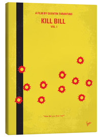 Stampa su tela  No048 My Kill Bill part 1 minimal movie poster - chungkong