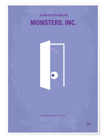 Poster Premium  Monsters, Inc. - chungkong