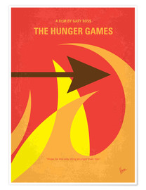 Poster Premium The Hunger Games