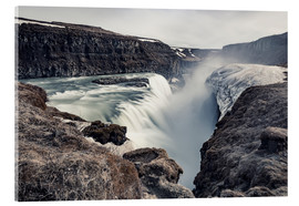 Stampa su vetro acrilico  Gulfoss - Images Beyond Words