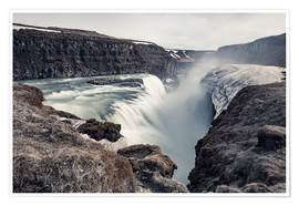 Poster Premium  Gulfoss - Images Beyond Words