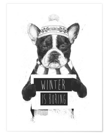 Poster Premium Winter is boring