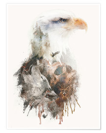 Poster Premium  America Pride Before the Fall - Barrett Biggers