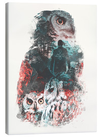 Stampa su tela  The Owls are Not What They Seem - Barrett Biggers