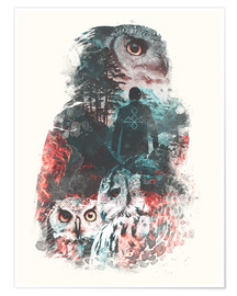 Poster Premium  The Owls are Not What They Seem - Barrett Biggers