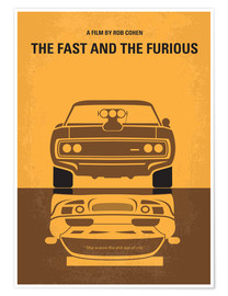 Poster Premium The Fast And The Furious
