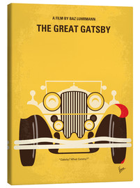 Tela  No206 My The Great Gatsby minimal movie poster - chungkong