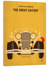 Stampa su legno  The Great Gatsby - chungkong
