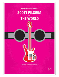 Poster Premium Scott Pilgrim Vs. The World