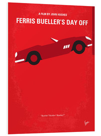 Forex  No292 My Ferris Bueller's day off minimal movie poster - chungkong