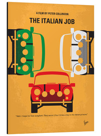 chungkong - The Italian Job - No279, minimal movie poster