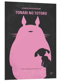 Stampa su schiuma dura  No290 My My Neighbor Totoro minimal movie poster - chungkong