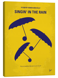 Stampa su tela  No254 My SINGIN IN THE RAIN minimal movie poster - chungkong